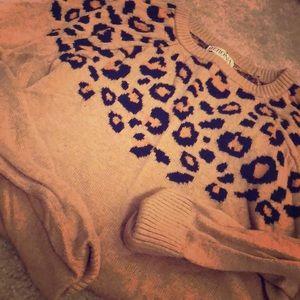 merona leopard sweater for Fall